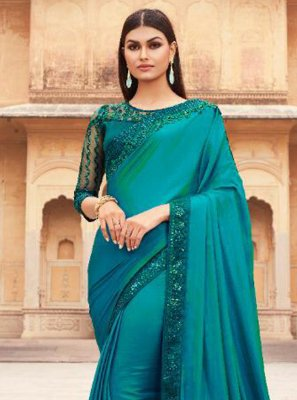 Silk Rama Traditional Designer Saree