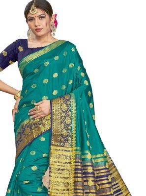 Silk Reception Traditional Saree