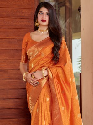 Silk Sangeet Designer Traditional Saree