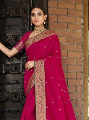 Silk Sangeet Designer Traditional Saree