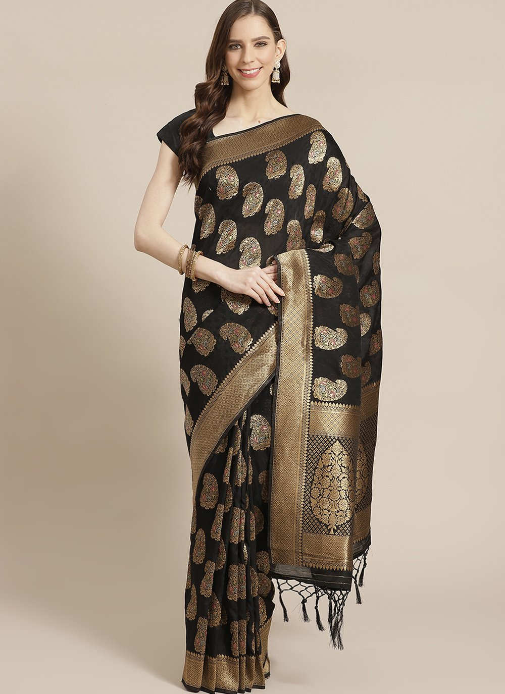 Silk Sangeet Traditional Designer Saree