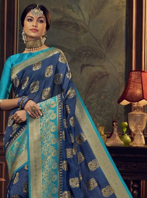 Silk Swarovski Designer Traditional Saree