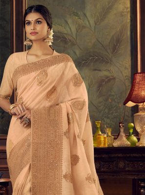 Silk Swarovski Traditional Designer Saree