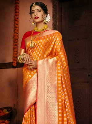 Silk Traditional Designer Saree