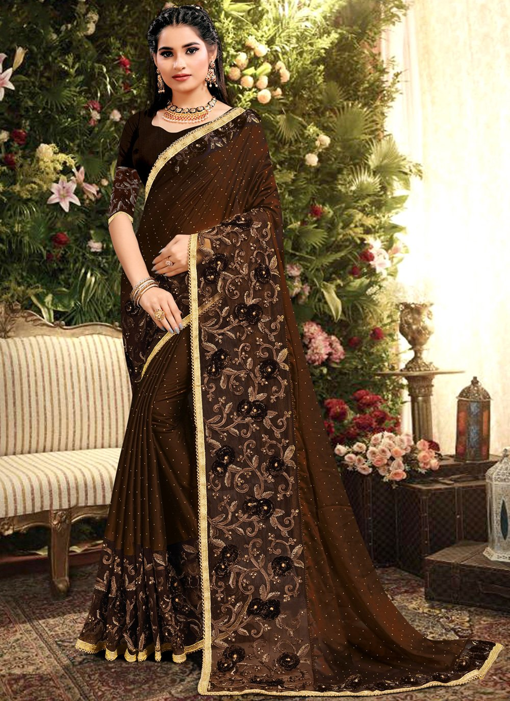 Silk Trendy Saree