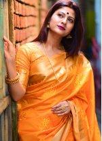 Silk Weaving Designer Traditional Saree