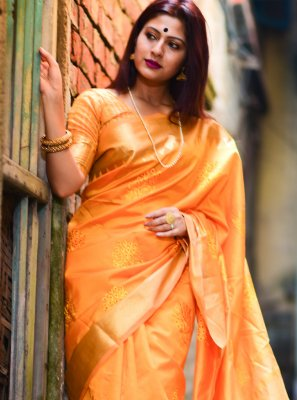 Silk Weaving Designer Traditional Saree