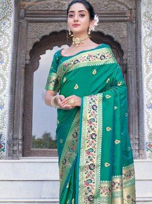 Silk Weaving Silk Saree
