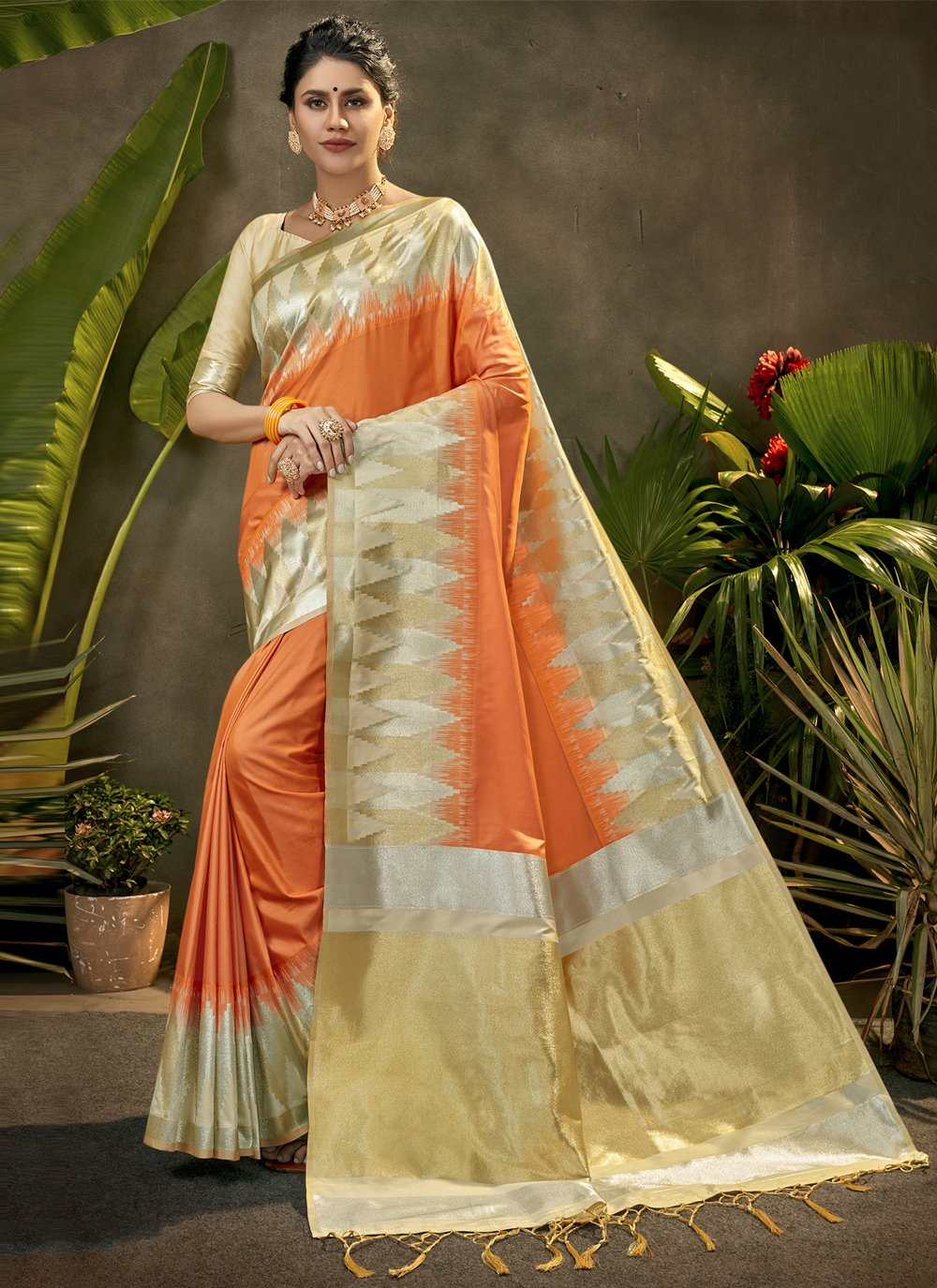 Silk Woven Designer Traditional Saree