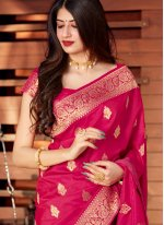 Silk Woven Traditional Designer Saree