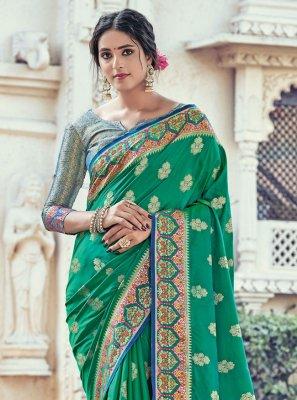 Silk Woven Traditional Designer Saree