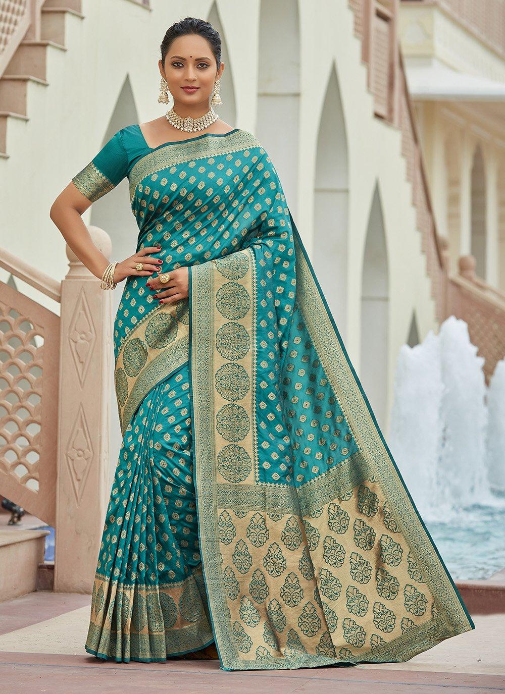 Silk Zari Traditional Saree
