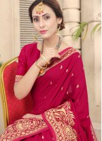 Stone Ceremonial Designer Traditional Saree