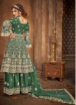 Stone Net Designer Pakistani Salwar Suit