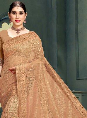 Stone Net Designer Saree