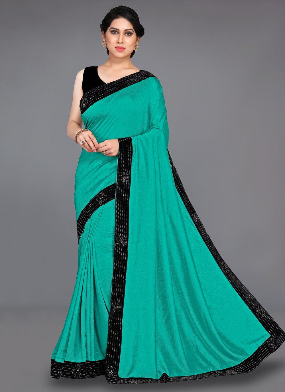 Stone Silk Designer Traditional Saree