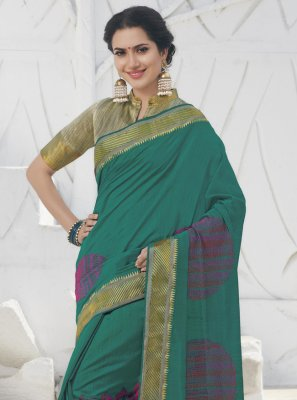 Swarovski Designer Traditional Saree