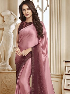 Swarovski Sangeet Shaded Saree