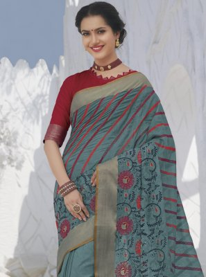 Swarovski Silk Designer Traditional Saree