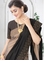Swarovski Silk Shaded Saree