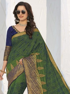 Swarovski Silk Traditional Saree