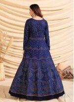 Tafeta Silk Fancy Designer Gown