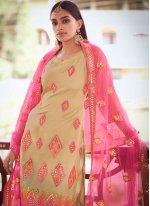 Thread Net Designer Pakistani Salwar Suit