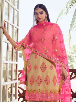 Thread Net Designer Pakistani Salwar Suit