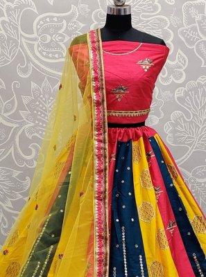 Thread Sangeet Lehenga Choli