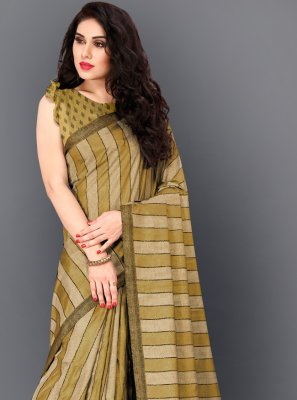 Thread Work Manipuri Silk Trendy Saree