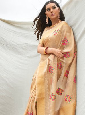 Tissue Designer Traditional Saree