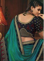 Traditional Designer Saree For Sangeet