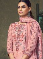 Trendy Palazzo Salwar Suit For Festival