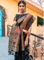 Tussar Silk Ceremonial Traditional Saree