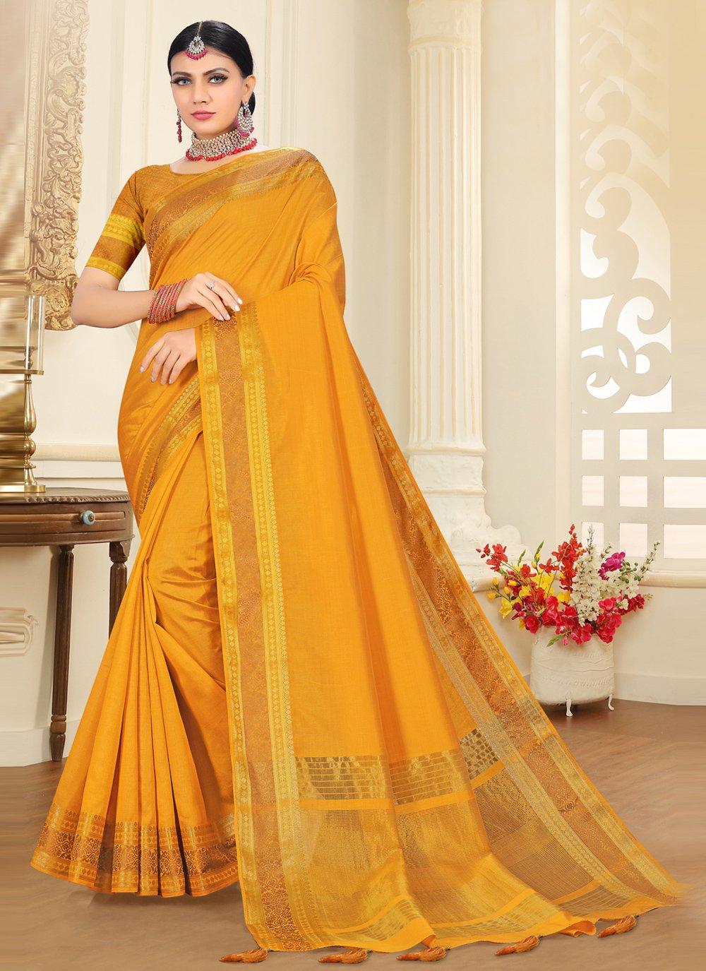 Tussar Silk Woven Traditional Designer Saree