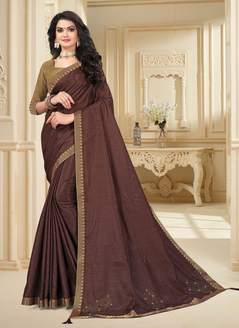 Vichitra Silk Classic Saree
