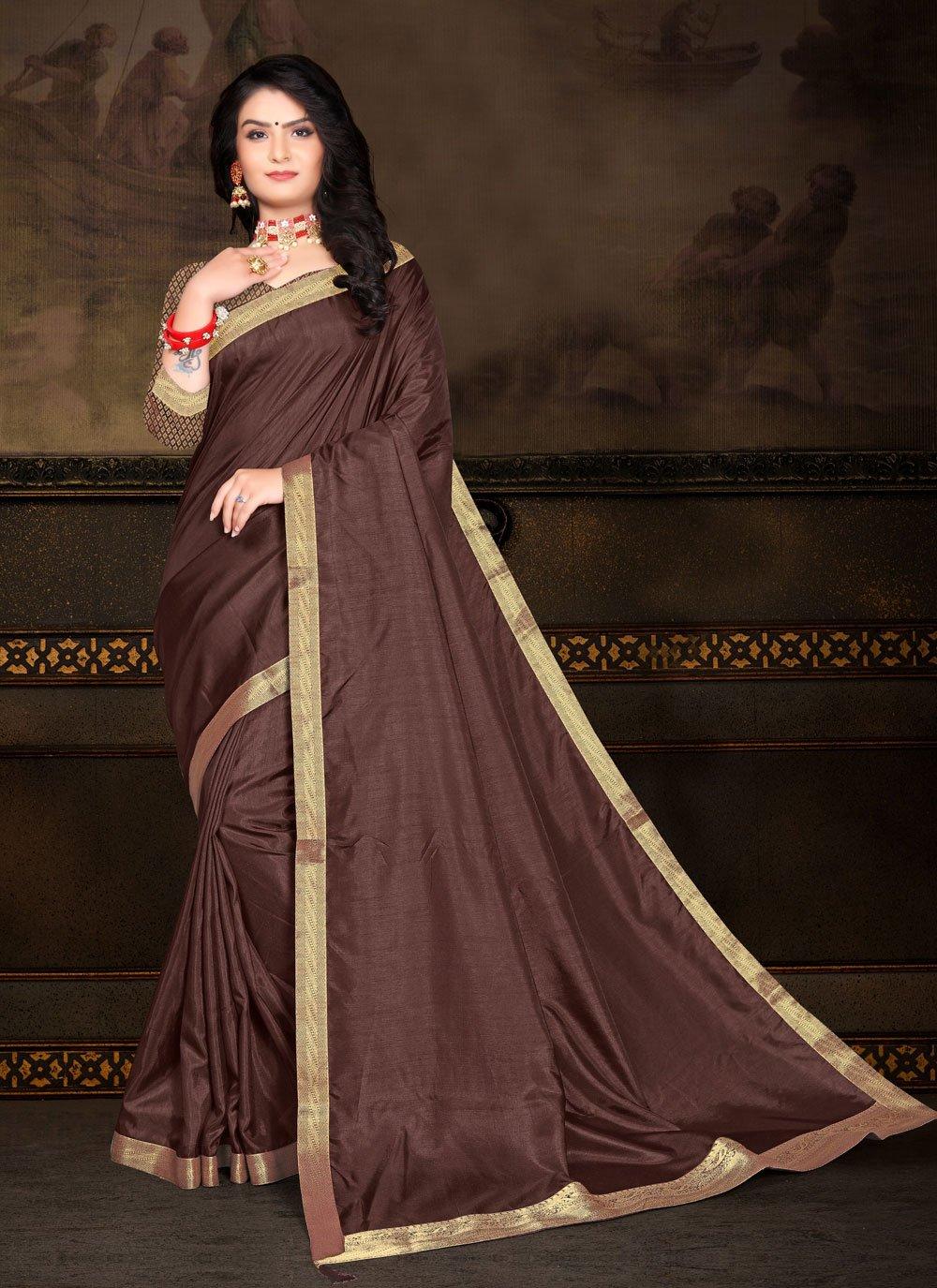 Vichitra Silk Festival Classic Saree