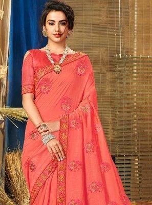 Vichitra Silk Party Traditional Saree