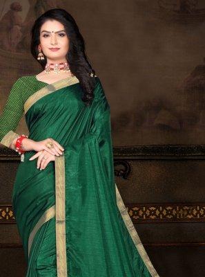 Vichitra Silk Traditional Saree