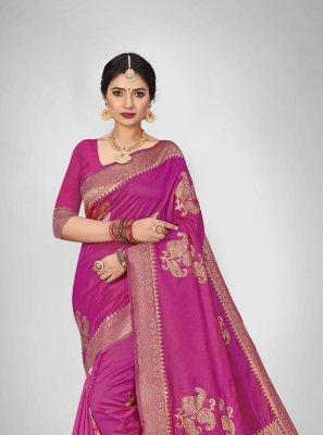 Weaving Art Silk Silk Saree