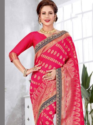 Weaving Art Silk Traditional Saree