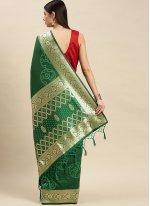 Weaving Banarasi Silk Traditional Saree
