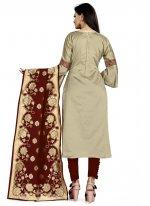 Weaving Churidar Designer Suit