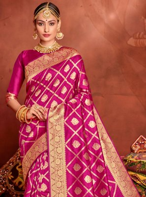 Weaving Engagement Designer Traditional Saree
