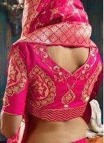 Weaving Engagement Lehenga Choli