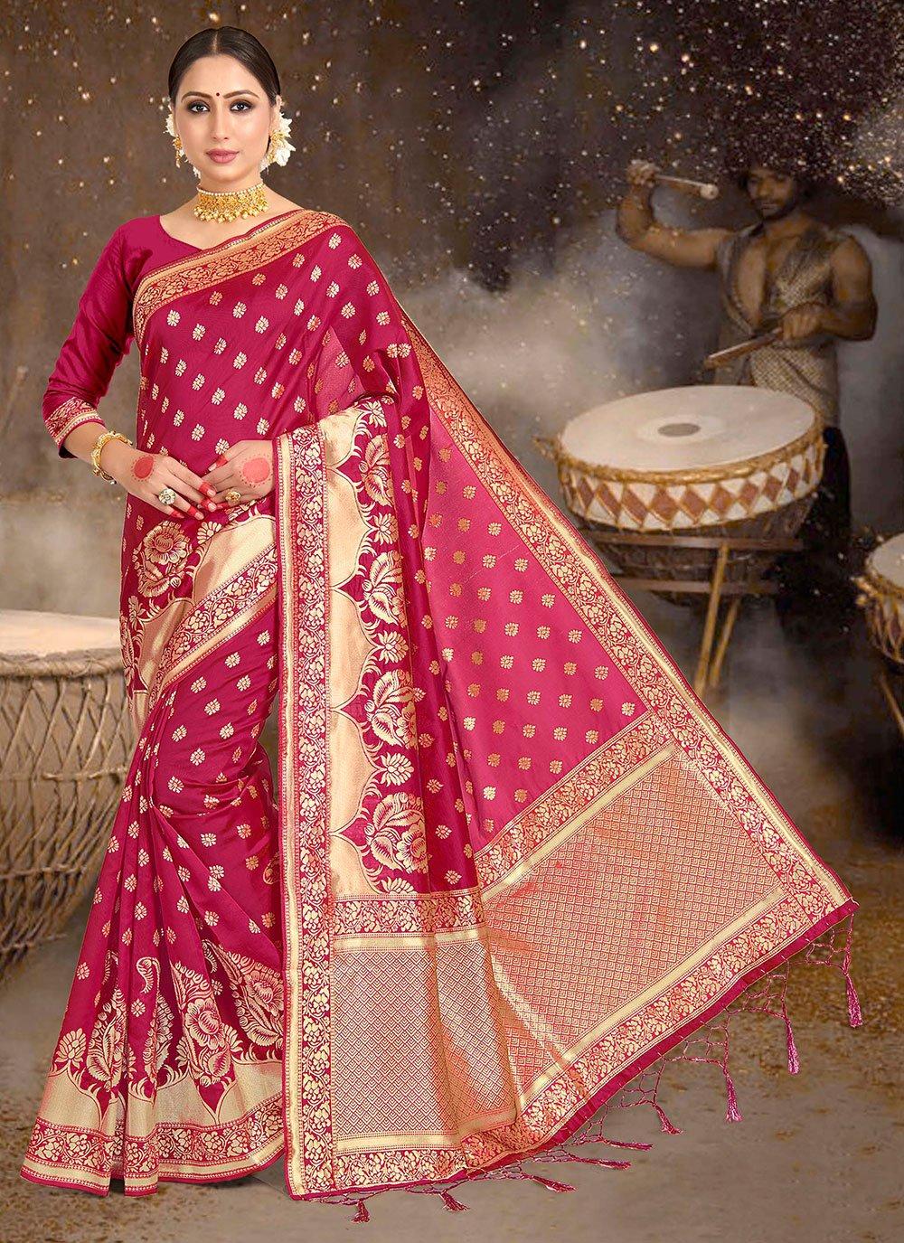 Weaving Festival Designer Saree