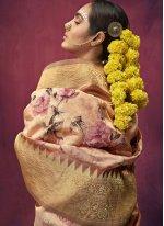 Weaving Multi Colour Art Silk Traditional Saree