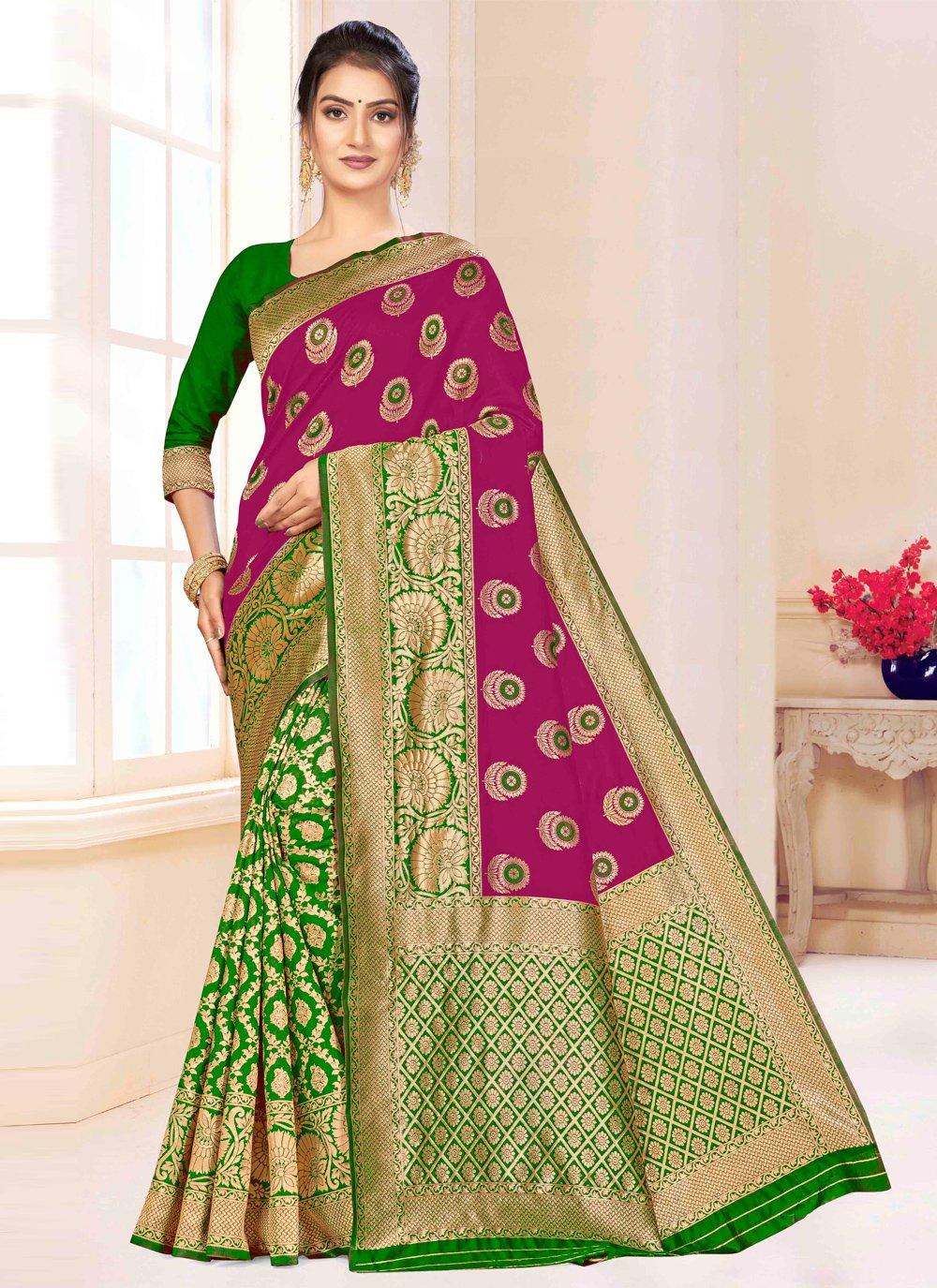 Weaving Party Designer Saree
