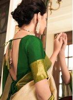 Weaving Reception Bollywood Saree
