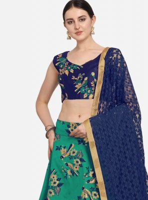 Weaving Sangeet A Line Lehenga Choli